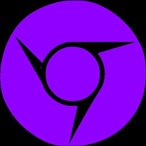 Violet Chrome Icon