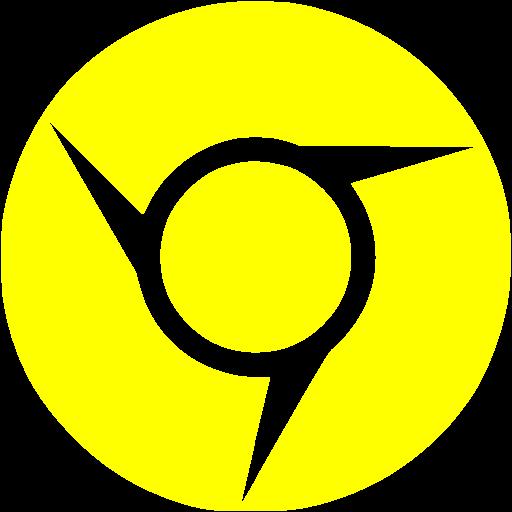 Yellow Chrome Icon