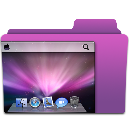 Icon Set Mac Desktop