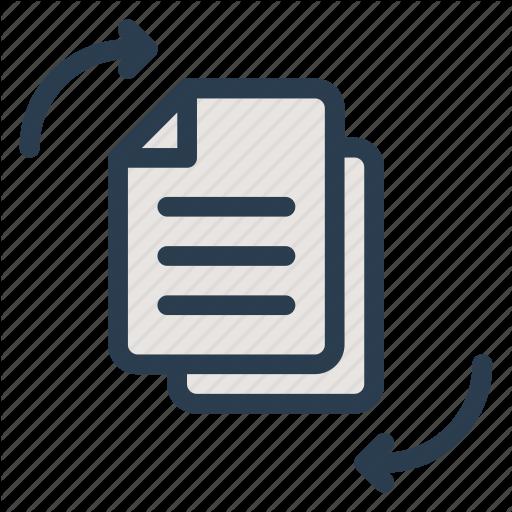 Change, Cv, Exchange, File, Move, Resume, Transfer Icon