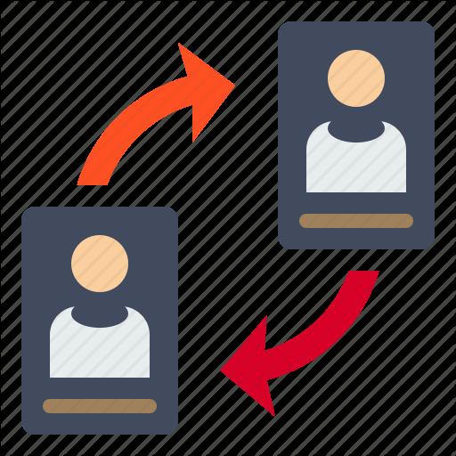 Change, Data, File, Human, Profile Icon