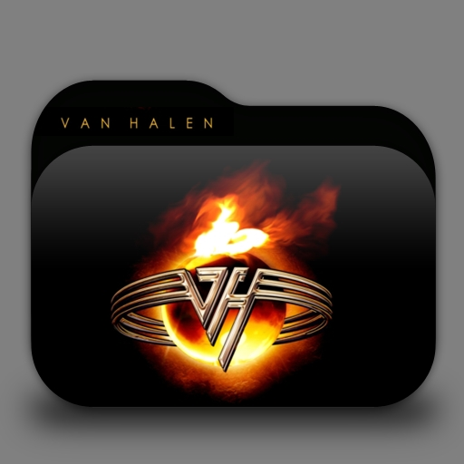 Van Halen Folder Icon