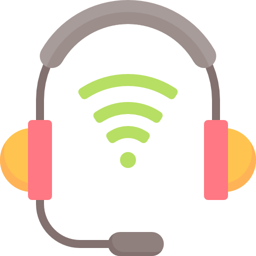 Headset Icon Contact Us Freepik