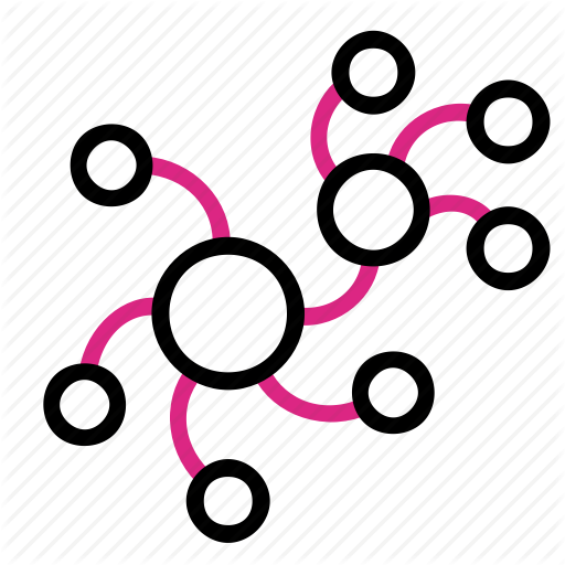 Biology, Chaos, Network, Virus Icon