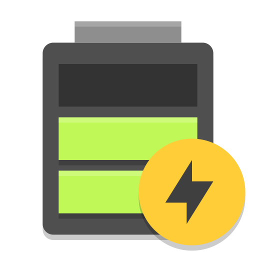Battery Good Charging Icon Papirus Status Iconset Papirus