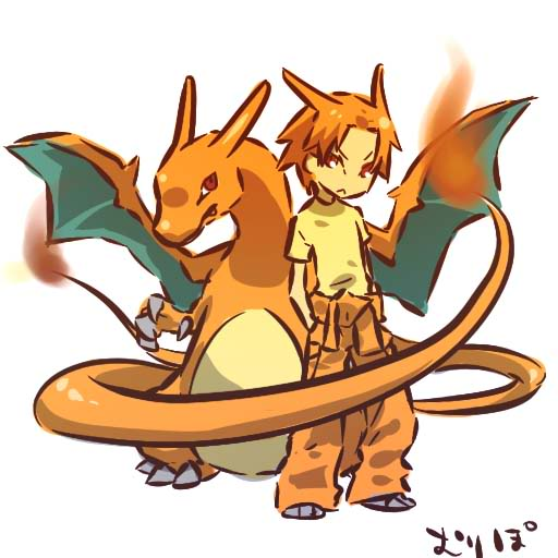 Pokemon Gijinka Charizard Animated Gifs Photobucket