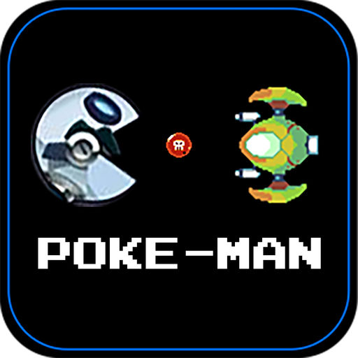 Poke Man Chase In The Outer Space Kid Maze Puzzle