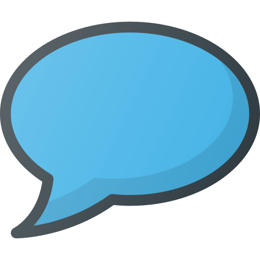 Message, Chat, Bubble Icon Free Of Free Set Color Outline