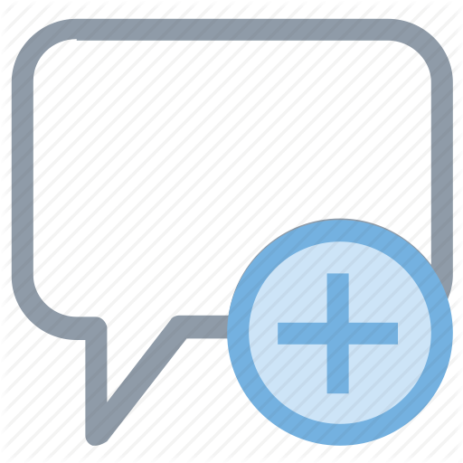 Add Chat, Add Message, Add Text, Chat Bubble, New Chat Icon