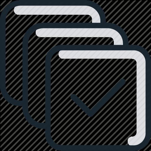 Box, Check, Checkboxes, Items Icon