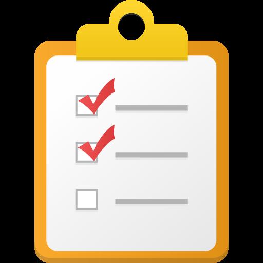 Checklist Icon Flatastic Iconset Custom Icon Design