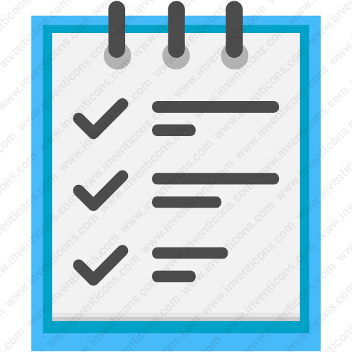 Download Clipboard,list,checklist,report,todo Icon Inventicons