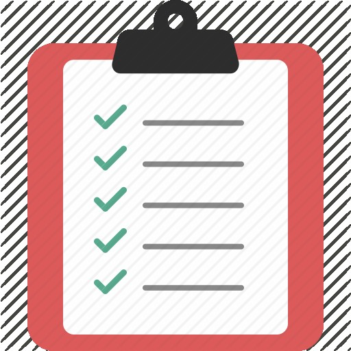 Icons For Free Checklist Icon List Clipboard Form Png