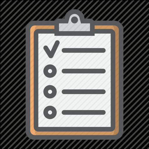 Illustration, Checklist, Graphics, Transparent Png Image Clipart