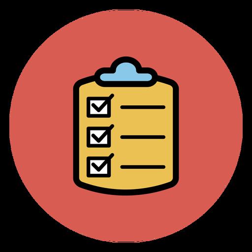 Medical Checklist Icon