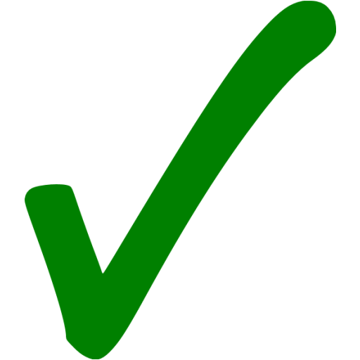 Check Mark Icon Png Flat Images