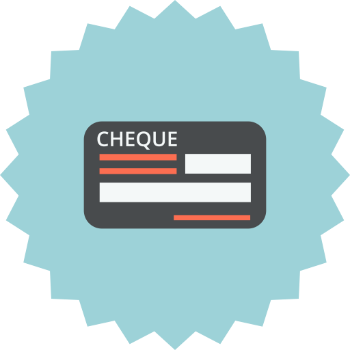 Payment, Cheque, Check, Blank, Payment Methode, Bill Icon