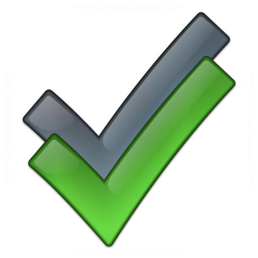 Blue Checkbox Icon Pics Download