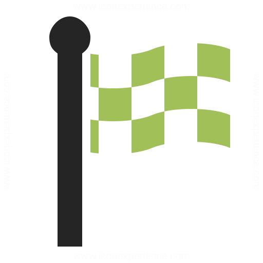 Signal Flag Checkered Icon Iconexperience
