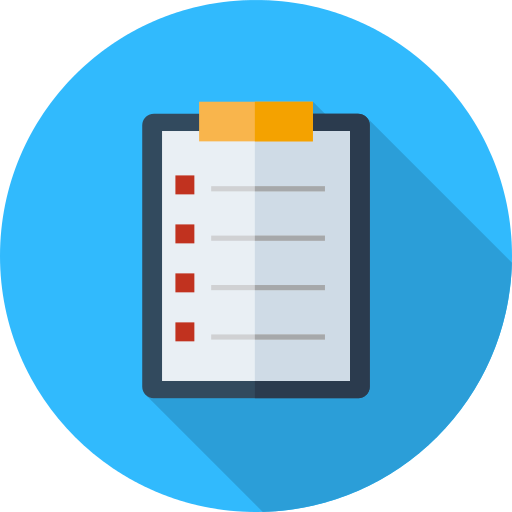 Check List Notepad Png Icon