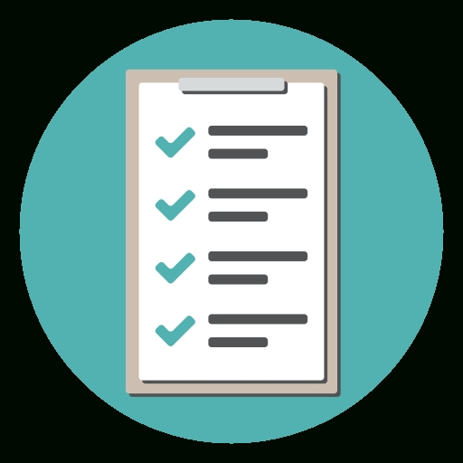 Checklist, Checkmark, Clipboard, Document, List, Tracklist Icon