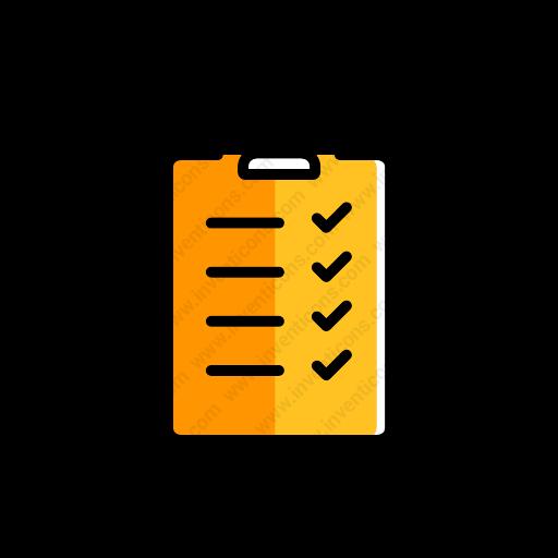 Download Checklist Icon Inventicons