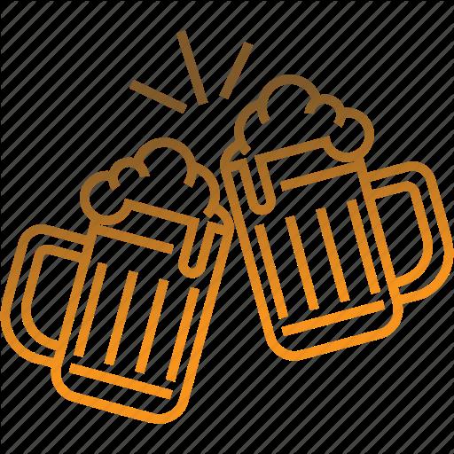 Beer, Beer Mug, Beverage, Cheers, Glass Beer Icon