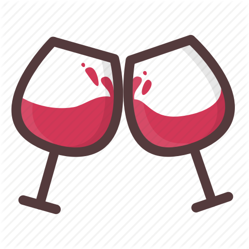 Cheers, Date Night, Drinking, Love, Party, Romantic, Wine Glass Icon
