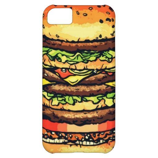 Big, Colorful Hamburger Case Mate Iphone Case Iphone Samsung
