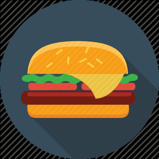 Burger, Cheeseburger, Fast, Fast Food, Food, Hamburger, Sandwich Icon
