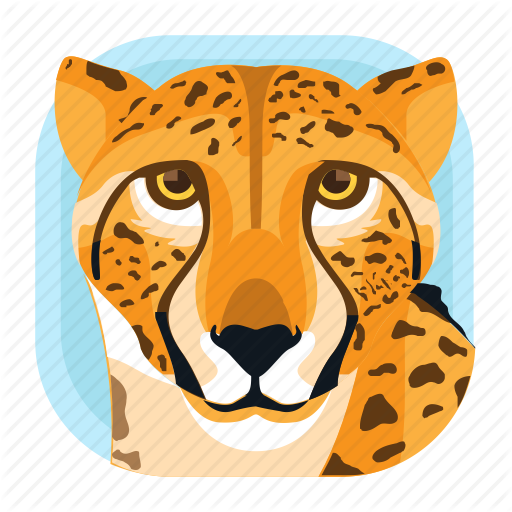 Animal, Big Cat, Cheetah, Leopard, Mammals, Wildlife, Zoo Icon