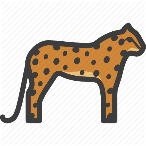 Cheetah, Feline, Guepard, Leopard Icon