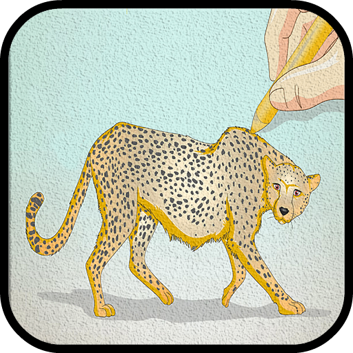 How To Draw Cheetah Step