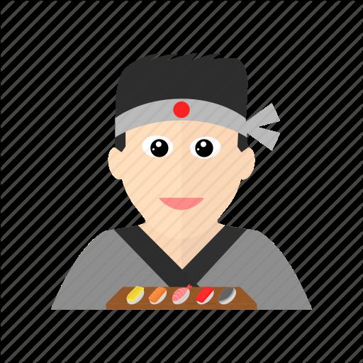 Art, Asian, Chef, Cook, Japanese, Sashimi, Sushi Icon