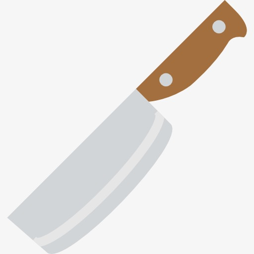 A Sharp Kitchen Knife, Kitchen Clipart, Knife Clipart, Kitchen Png