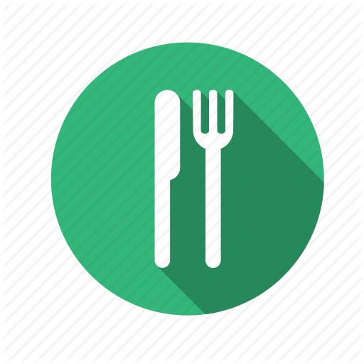 Food, Fork, Knife, Lunch, Restaurant Icon
