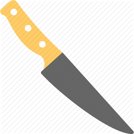 Kitchen Knife, Kitchen Tool, Kitchen Utensil, Knife, Sharp Tool Icon