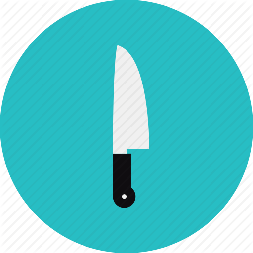 Blade Cutlery Kitchen Kitchenware Knife Utensil Icon Icon Kitchen
