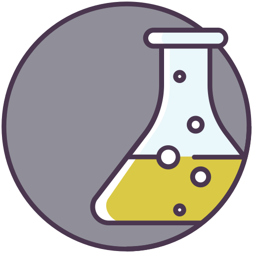 Flask, Liquid, Science, Chemical Icon