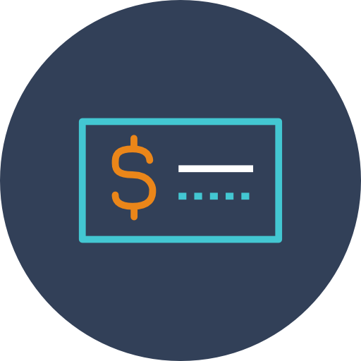 Cheque Icon Free Of Linear Finance Icons