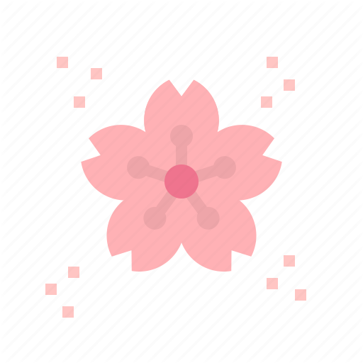 Blossom, Cherry, Flower, Sakura, Spring Icon