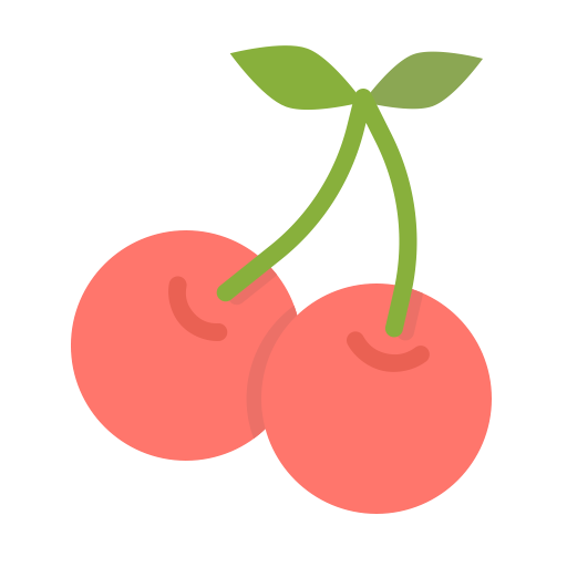 Berries, Cherries, Berry, Food, Fruit, Spring, Cherry Icon