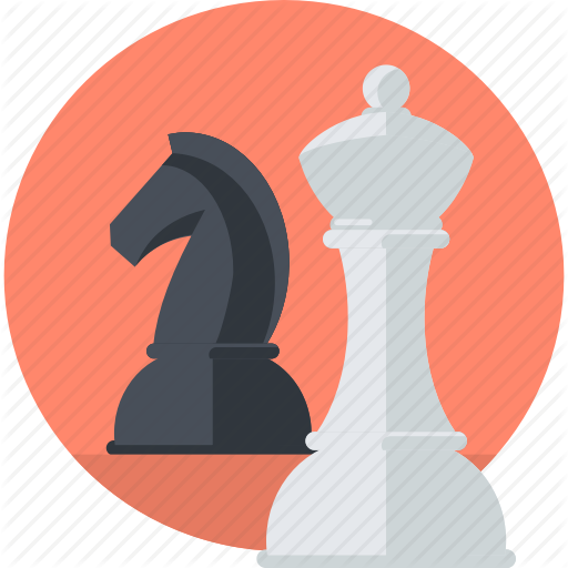 Business, Chess, Concept, Marketing, Planning, Strategy Icon