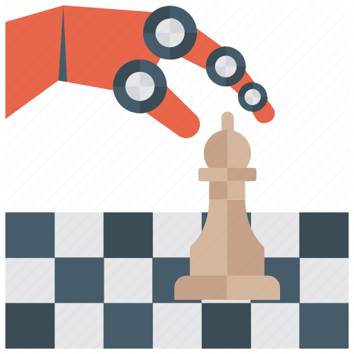 Chess, Chess Board, Chess Club, Game, Indoor Game, Playing Chess Icon
