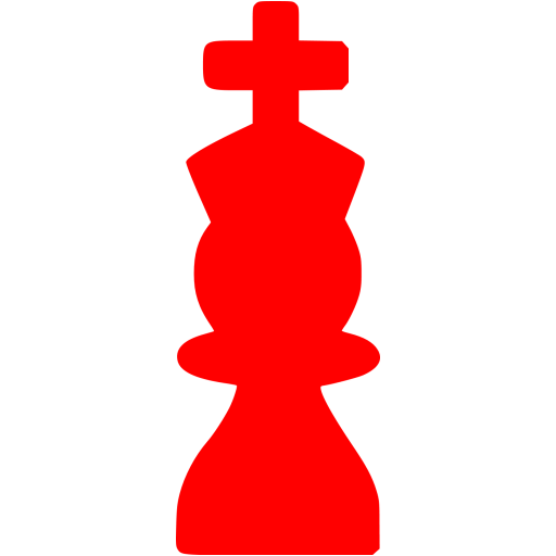Red Chess Icon