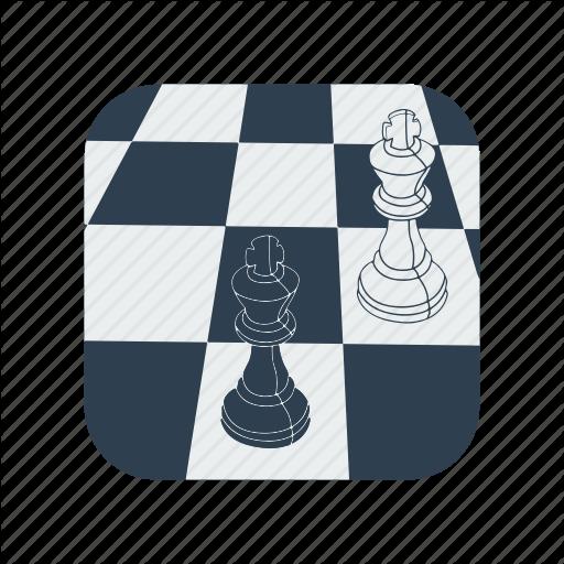Bishop, Chess, Knight, Piece, Set, White Icon