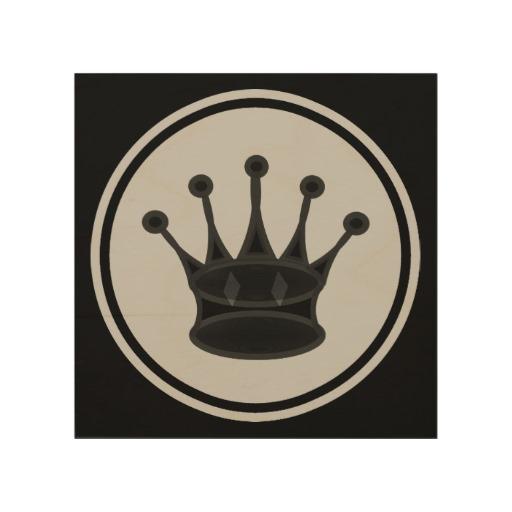 Queen Black Icon