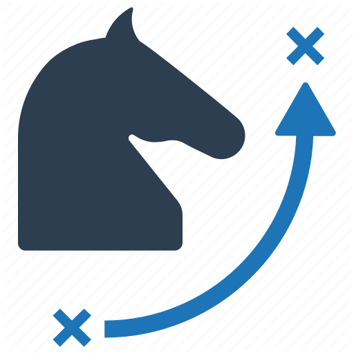 Business, Chess, Knight, Planning, Strategy Icon