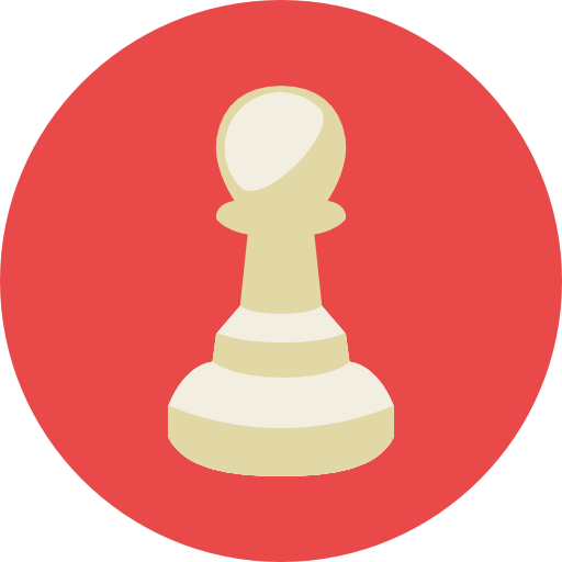 Pawn, Tower, Chess Piece, Sports, Towers, Chess Game Icon