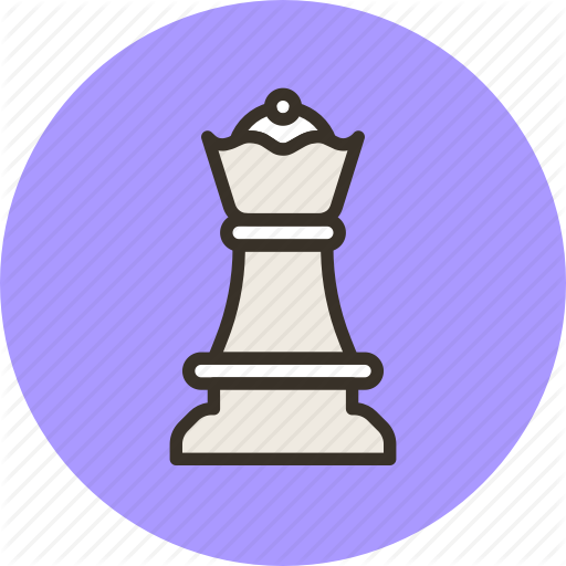 Chess, Figure, Games, Queen, Strategy Icon